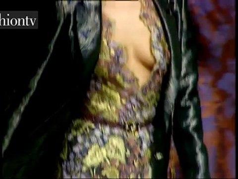 Valentino Fall 1997 RTW Show ft Shalom Harlow   FashionTV