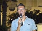 Compleanno Riccione '90: Andrea Speziali in diretta zona 63 Speranzino Riccione 22.8.2012
