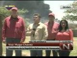 Presidente Hugo Chávez Frías decreta 3 días de duelo nacional por tragedia en Amuay