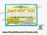 Moshi Monsters Cheats for Free Membership