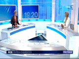 Véronique Massonneau invitée du 19/20 de F3 Poitou-Charentes le 22/08/12