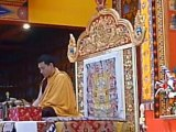 Le Gyalwa Karmapa au Bost, Dhagpo Kundreul Ling, Auvergne, le 27 août 2012 (mantra) de rémychel