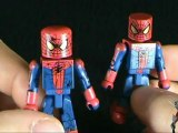 Collectible Spot - The Amazing Spider-man Minimates Spider-man and Peter Parker