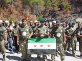 Syria فري برس  اللاذقية  كتيبة حطين الثورية في جبل التركمان في ريف اللاذقية  27-8-2012