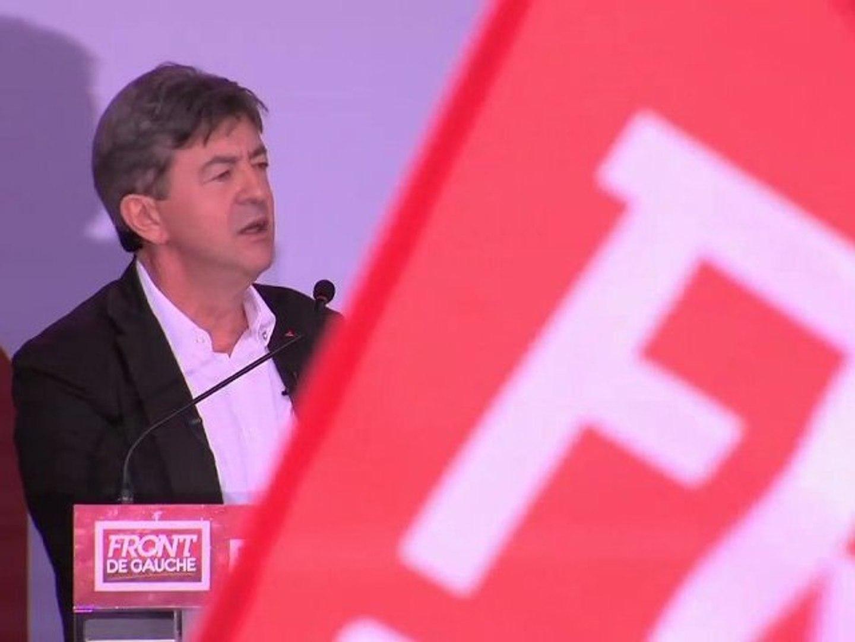 J.-L. Mélenchon - Discours Estivales du Front de Gauche