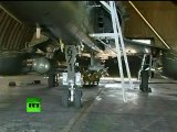 Video of coalition fighter jets, military planes activity in Italy, France