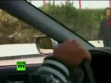 Hunt for rebels: Video of unarmed protester shot by Bahrain police gunfire