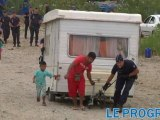 Expulsion d'un camp de Roms à Saint-Priest dans le Rhône