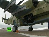Video of Russian Kamov Ka-52 'Alligator' first demo flight
