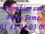 Plombier Paris 5 tel : 01.40.18.40.40 Plomberie 75005 eme
