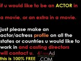 Actors needed, how to become an actor, extras needed for a movie, movie auditions, casting, actress needed, models needed, how to become an extra, movie extras, post free casting notices, post movie auditions, free auditions for movies, casting extras