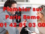 Plombier Paris 8eme au 01.40.18.40.40 Plomberie 75008 8eme