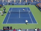US Open - Berdych sort Goffin