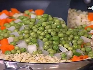 Choumicha - Recette Ramadan : Merguez et Salade blé légumes