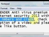 Bitdefender Total Security 2013 License Key   Antivirus Plus 2013 Crack (link in