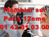 Plombier Paris 12eme 01 40 18 40 40 Plomberie 75012