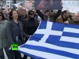 Video of Greece strike turning violent in Athens
