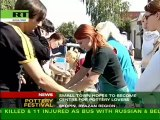 Potters potter in small Russian town