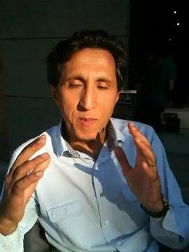Amir Khadir co-chef du Parti Québec Solidaire en entrevue avec Michelle Blanc