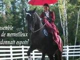 À cheval pour mon comté! (version courte) Samuelle d'Option Nationale / A campaign on horseback (short version)