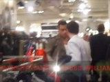 Robbie Williams Selfridges Farrell launch  30 agosto 2012