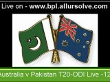 Australia v Pakistan 2nd-3rd-4th-5th_ODI Series_1st_2nd T20-Match Live Streaming in Online on bpl.allursolve.com