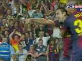 FC Barcelona VS Real Madrid 3-1 Xavi
