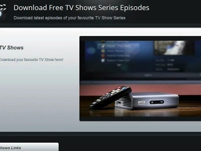 Download TV Shows for Free – Free TV Shows Series – Episodes Download
