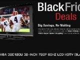 Black Friday Toshiba 32C120U On Sale Cyber Monday Deals