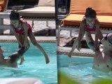 Jennifer Lopez Makes a Splash in Bikini