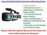 BEST BUY Canon GL2 MiniDV Digital Camcorder w/20x Optical Zoom