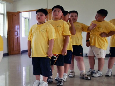 Child Obesity Reaches 120 Million in China