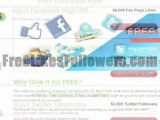 Get 50k Free Facebook Likes, Fans, Twitter Followers & Pinterest Followers FREE [This Time Only]