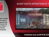 Appartement T2-F2 Bandol vente 2 pièces à vendre Bandol 83150 VAR