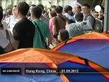 Chine : des étudiants en grève de la faim... - no comment