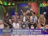 Hugo Avila y Jorge Moliniers, enamorados  ¡cantaron juntos!