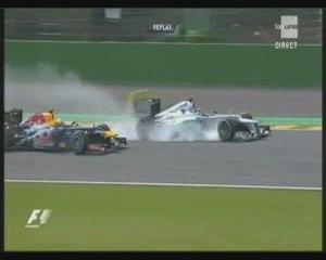 Francorchamps 2012 : Schumacher et Vettel
