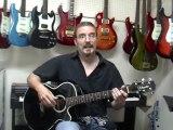 Cours de guitare acoustique à l'Académie de musique LaSalle inc