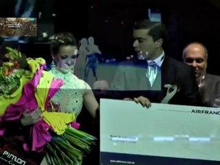 MUNDIAL DE TANGO 2012 LOS 5 PREMIADOS EN ESCENARIO
