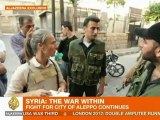 Syrian rebels advance in Aleppo's old city
