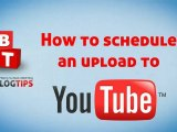 Upload A YouTube Custom Thumbnail and Schedule Video Uploads