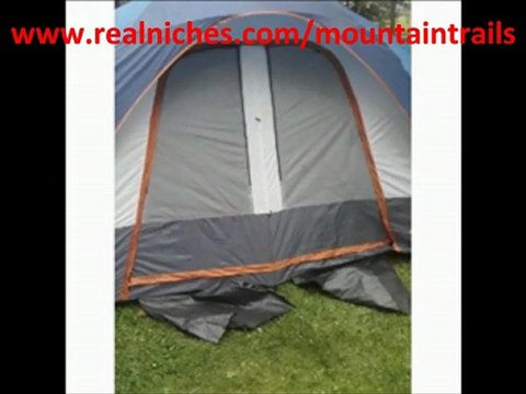 Mountain Trails Grand Pass 18- by 10-Foot, 2-Room 6 to 7-Person