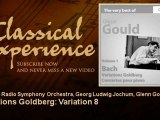 Glenn Gould plays Bach : Variations Goldberg : Variation 8 - ClassicalExperience