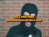 Calvin Harris VMA performance 2012