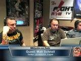 Matt Schnell on MMAjunkie.com Radio