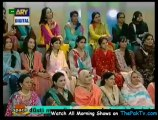 Good Morning Pakistan By Ary Digital - 4th September 2012 - Part 3/4