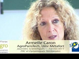 JS 2011 : Armelle Caron - La mise en politique de la notion de service environnemental