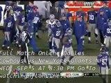 Watch Online NFL Cowboys vs Giants
