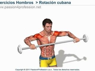 Manguito de los rotadores  Rotación cubana
