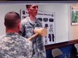 Bizutage militaire qui se termine mal (arrêt cardiaque)